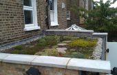 Construir un techo de vida / techo verde