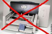 Cómo matar a una impresora con eficacia.