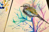 Cómo pintar aves en acuarela