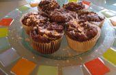 Muffins de alimentos diabólica calabaza del diablo