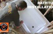 Cómo instalar una bañera (haga ROCK SOLID)