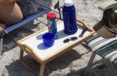 Mesa de centro silla de playa