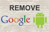 Cómo eliminar cuenta de Google de Android