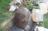 Rocas y esculturas de concreto