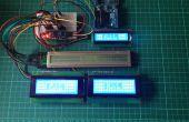 Biblioteca de controlador de LCD Arduino I2C y PackMan