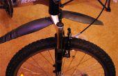 Mejorar la suspensión de horquilla de bicicleta