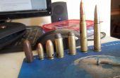 Como hacer una bala con y sin cadena collar o clave shell