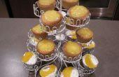 Duraznos y crema Cupcakes