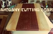 Tabla de cortar caoba pisos