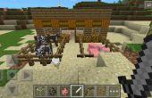Casa de estilo impresionante granja de Minecraft! ¿