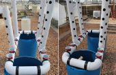 Construir un vegetal aquaponic vertical y la piscifactoría para terrenos pequeños y casas