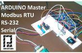 Maestro Modbus RTU con Arduino via RS232
