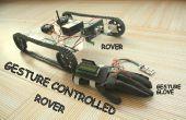 GESTO controlado por Arduino basado en el Rover (Wireless + línea siguiente)