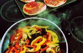5 minutos Pita Pizzas