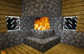 Cómo hacer una chimenea que no quema tu casa en Minecraft