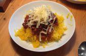 Súper bajo en carbohidratos, sin gluten, Vegano espaguetis boloñesa