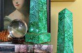 Obeliscos de Malaquita Imitación