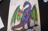"""Cómo colorear un día de San Valentín (o cualquier otro) tarjeta con """"Gamsol Magic"""""""