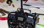 JR Radio 2,4 ghz conversión 3D impreso piezas