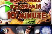 Cómo hacer helado en 10 minutos