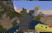Instante las paredes en Minecraft
