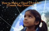 Cómo hacer una nube de cámaras (Detector de rayos cósmicos)