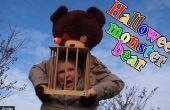 Monstruo de Halloween oso