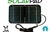 Abrir fuente Solarpad Kit Solar USB cargador