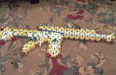 AK-47, M4 carabina, escopeta y mi nuevo desighn mag