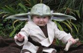 Disfraz de Yoda para bebé