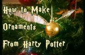 Cómo hacer adornos de Harry Potter