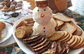 Crema de queso Frosty el muñeco de nieve