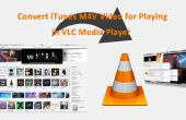 Convertir iTunes M4V Video para jugar en VLC Media Player
