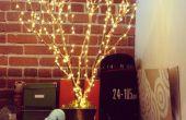 Decoración del árbol de luz LED
