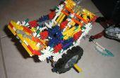 Construir tu propio, motor k'nex, conteo de piezas medianas