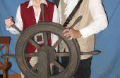 Timón de la nave del pirata