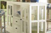 Hacer una exhibición vintage gabinete o isla