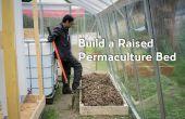 Cómo construir una cama levantada Permacultura