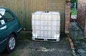 Revestimiento de un tanque de agua de 1000 litros/250 galones IBC