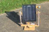Seguidor Solar portable (No requerida microcontrolador!) ¿