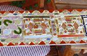 Mosaico: vidrio, cerámica y pegamento gorila!