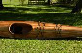 Construcción de un Kayak de tiras de cedro