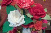 Rosas de tela almidonada para tu San Valentín!