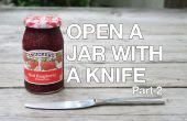 Abrir un frasco atascado con un cuchillo PT. 2