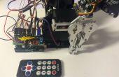 Brazo robótico con control remoto