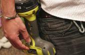 Gancho del cinturón para taladros de alambre