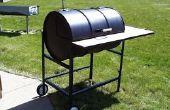 Construir su propia Texas Grill (parrilla de tambor de 55 galones)