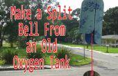 Hacer una campana de partida de un viejo tanque de oxígeno