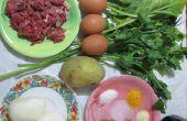 No quiche hojaldre: receta simple y fácil