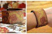 Hacer una pulsera de cuero del pun ¢ o de un cinturón viejo